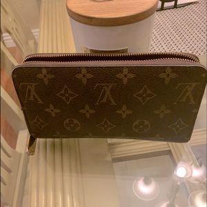 LV Monogram Zip wallet